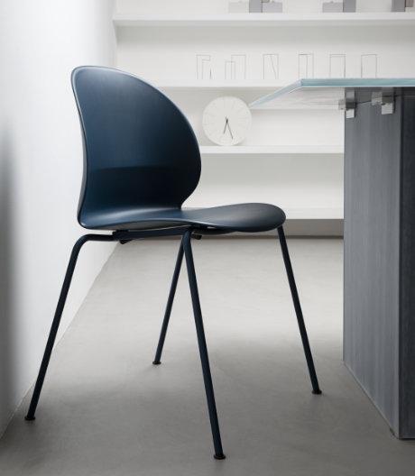 Nachhaltig: Der recycelte und recycelbare Stuhl von Nendo für Fritz Hansen.
