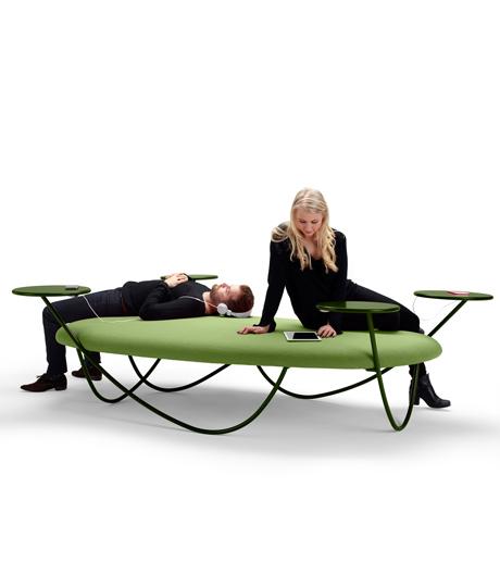 Hybrid für modernes Arbeiten: Sitzmöbel von Studio Front für Offecct