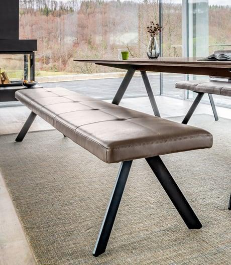 Vielseitige, anpassungsfähige Sitzbank von Atelier I+N für Girsberger