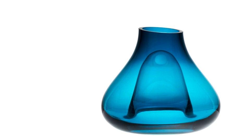 Mundgeblasene Vasen des Pariser Designers Christian Ghion für Ligne Roset