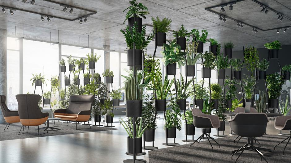 Raumteiler von Brunner als elegante Lösung für das Büro