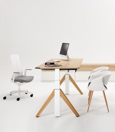 Motorisierter Steh-Sitz-Tisch von Wini
