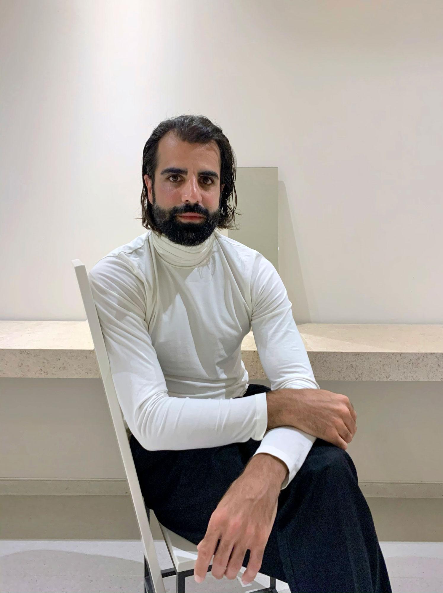 Innenarchitekt und Designer Douman Pour im Gespräch