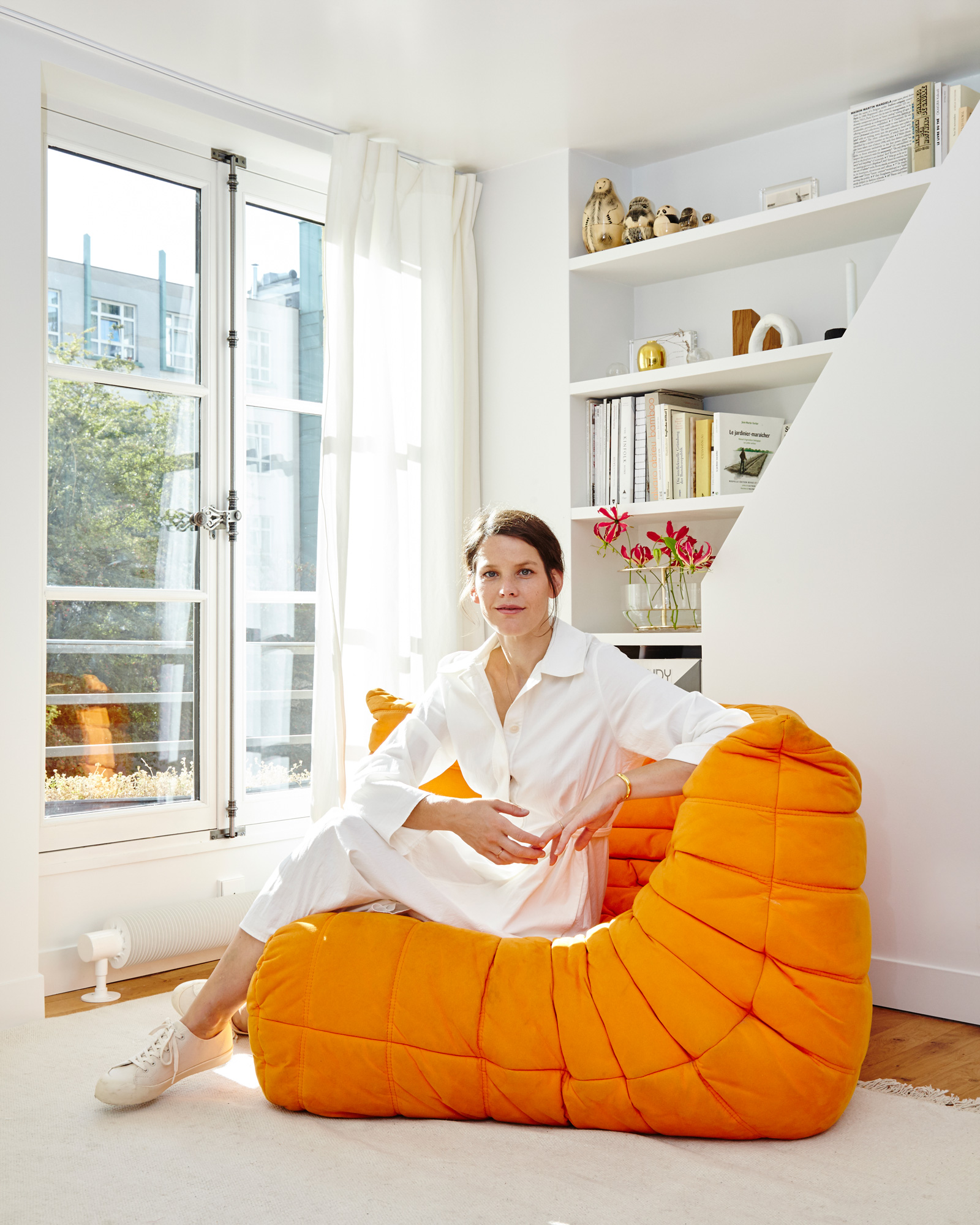 Die in Paris lebende Designerin im Gespräch