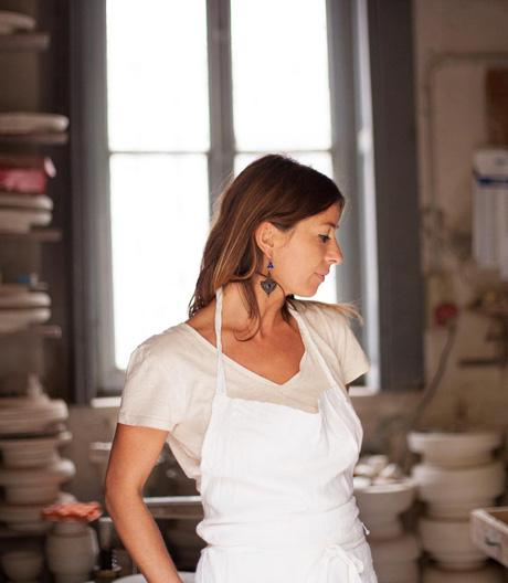 Die Mailänder Keramikkünstlerin über Spuren der Handarbeit