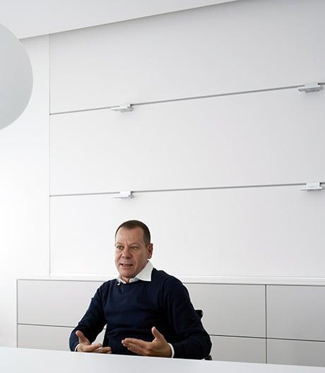 Der Geschäftsführer von bulthaup über Paul Bocuse und Blingbling
