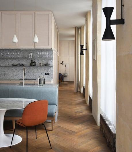 Fließende Raumstrukturen: Apartment von Atelier du Pont.