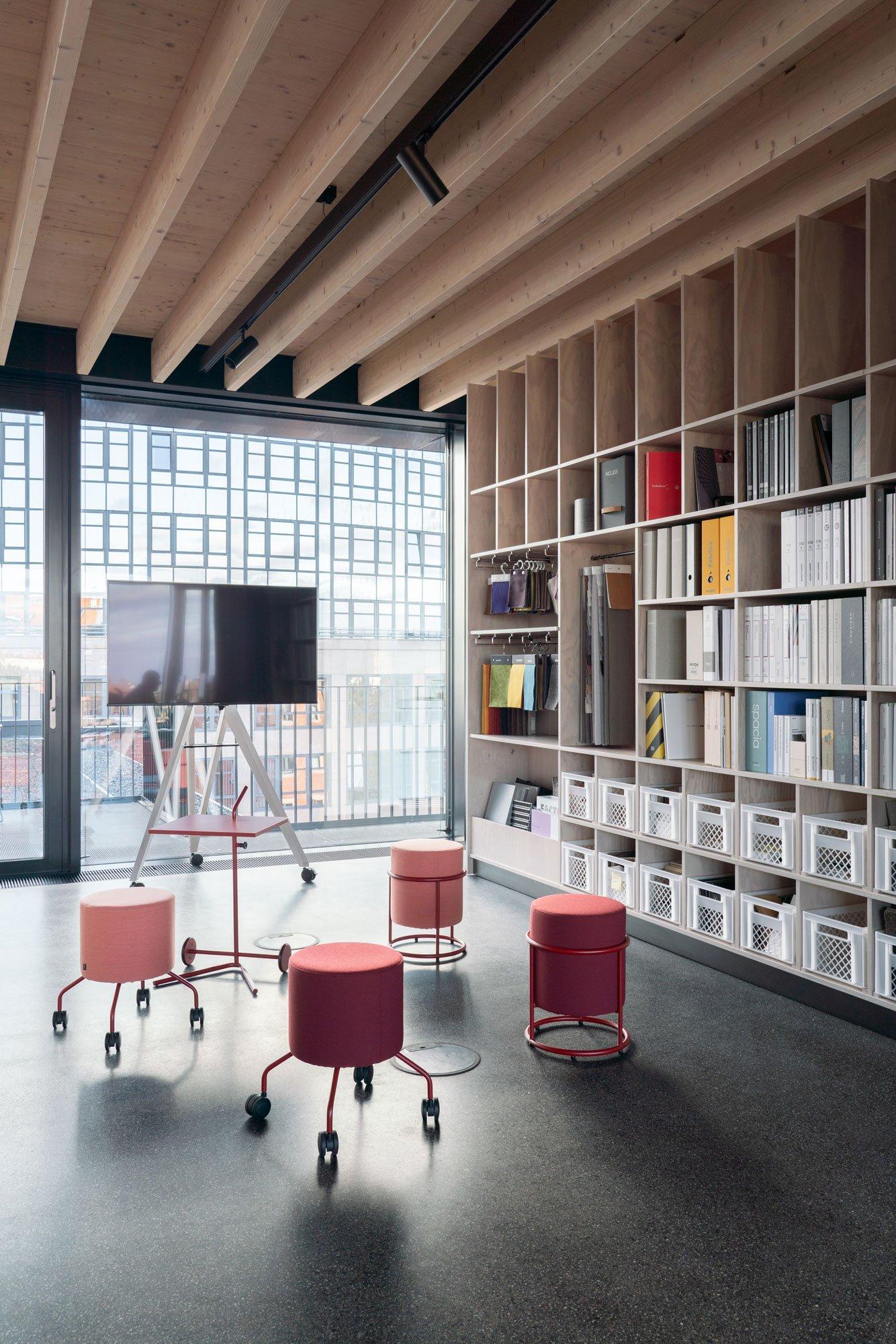 Büroausbau für eine agile Arbeitsumgebung von buerohauser