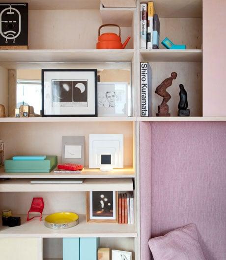 Miniapartment auf 13 Quadratmetern in London von Studio Mama