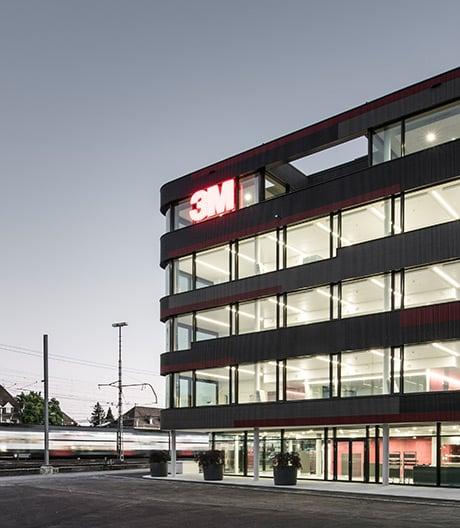 Die Europazentrale von Marazzi + Paul Architekten für 3M