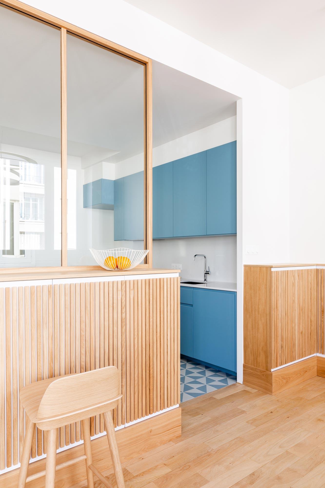 Familien-Triplex von Bertina Minel Architecture