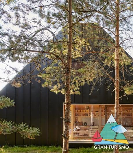 Wochenendhaus mit Ausblick und Anspruch von Tham & Videgård auf der Stockholmer Schäreninsel Husarö.
