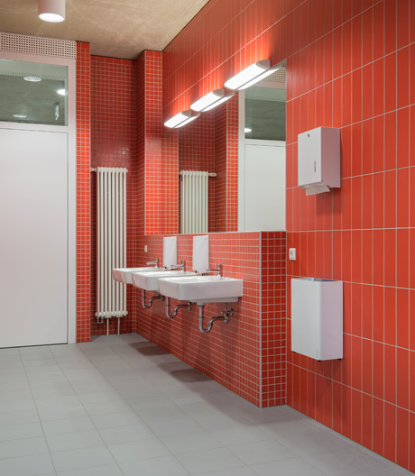 Lënster Lycéevon G+P Muller architectes