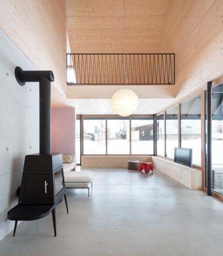 Ein Holzhaus in Niederösterreich von Bogenfeld Architektur
