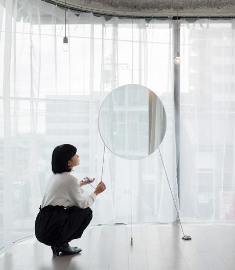In diesem japanischen Friseursalon hängen keine Spiegel an der Wand, und es geht auch nicht darum, wer am schönsten ist.