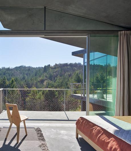 Drei Gästehäuser von Mork-Ulnes im Norden Kaliforniens
