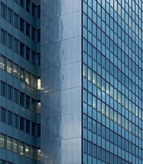 Umbau der drei Ausrufezeichen des Wirtschaftswunders durch HPP