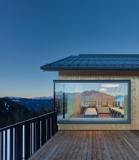 ARSP-Architekten haben das Konzept der Skihütte grundlegend neu interpretiert