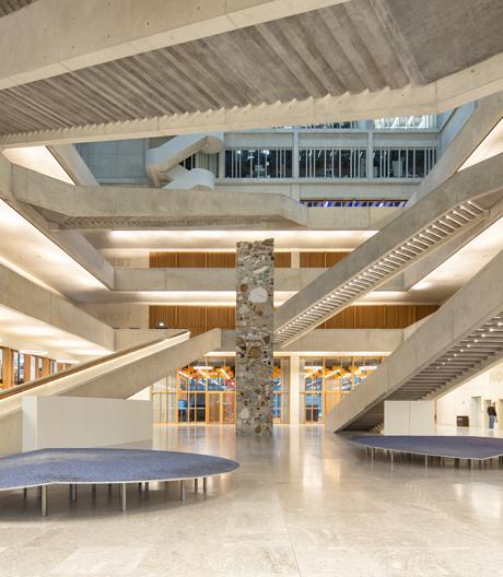 Lernen im vertikalen Campus: die neue FHNW Muttenz von pool Architekten.