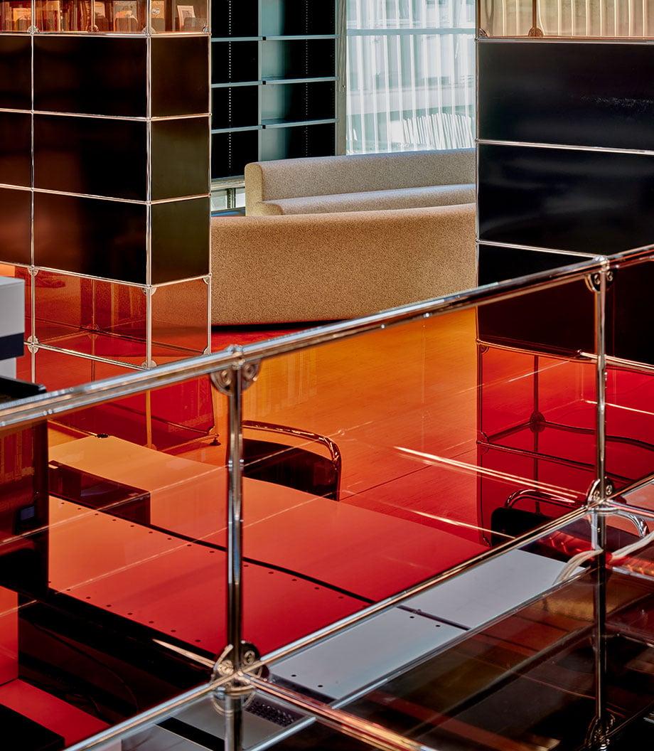 Umgestaltung eines Forschungszentrums in Rotterdam mit USM-Möbeln