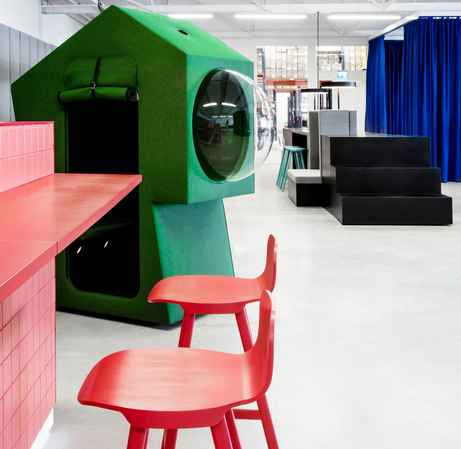 Studio Aisslingers LOQI Activity Office in Berlin