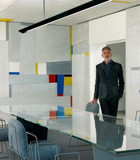 Möblierung für den Rockefeller Dining Room von Alfredo Häberli in New York