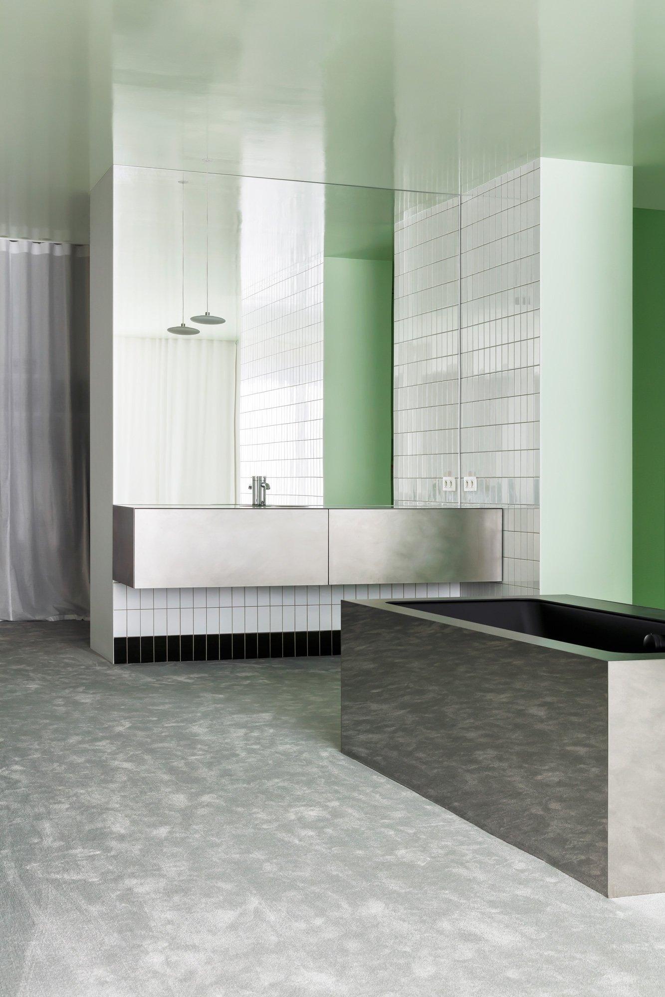 Minimalistischer Umbau eines Apartments von DIALECT in Antwerpen