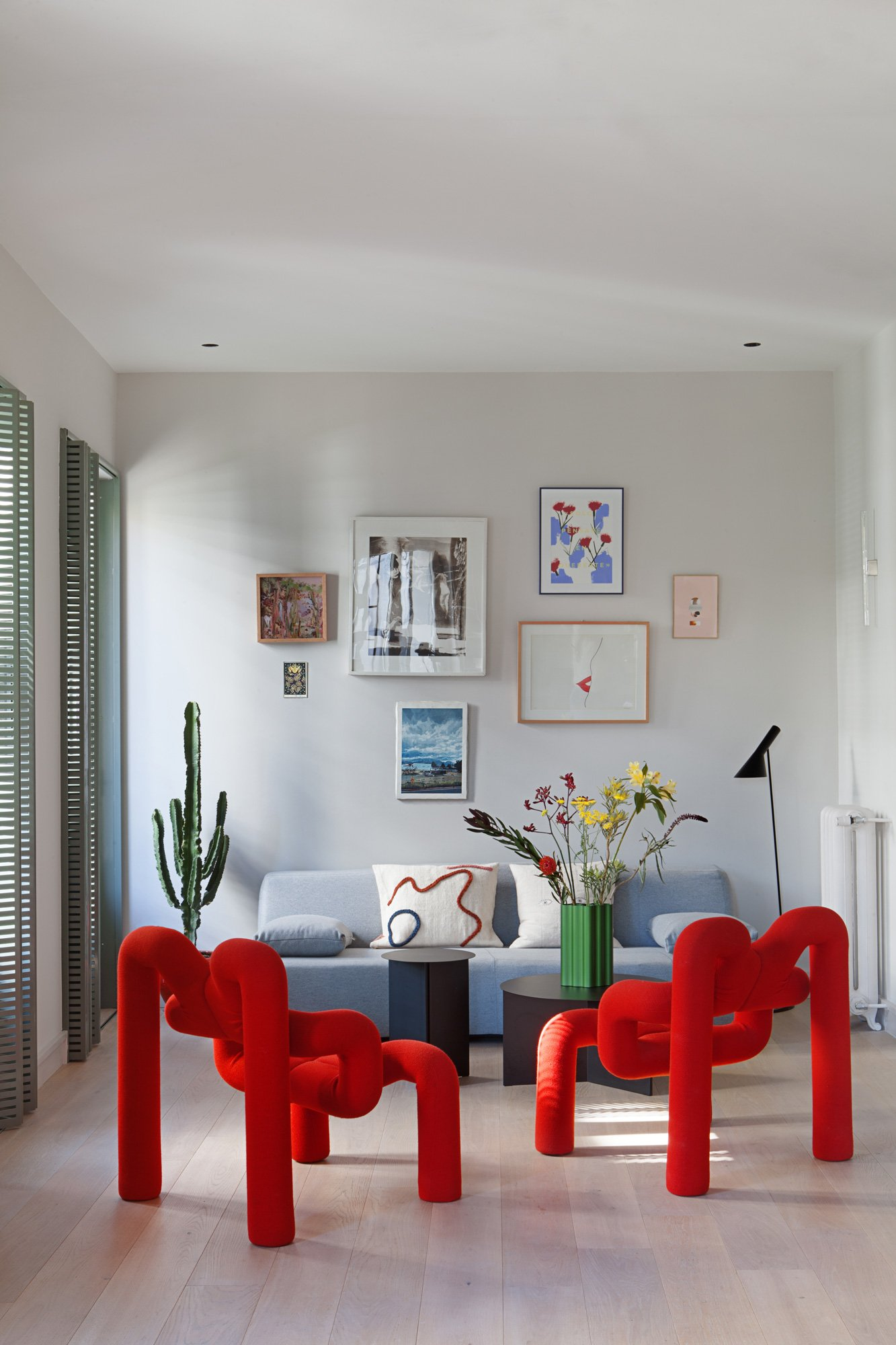 Extravagantes Apartment von Studio Plutarco in Madrid