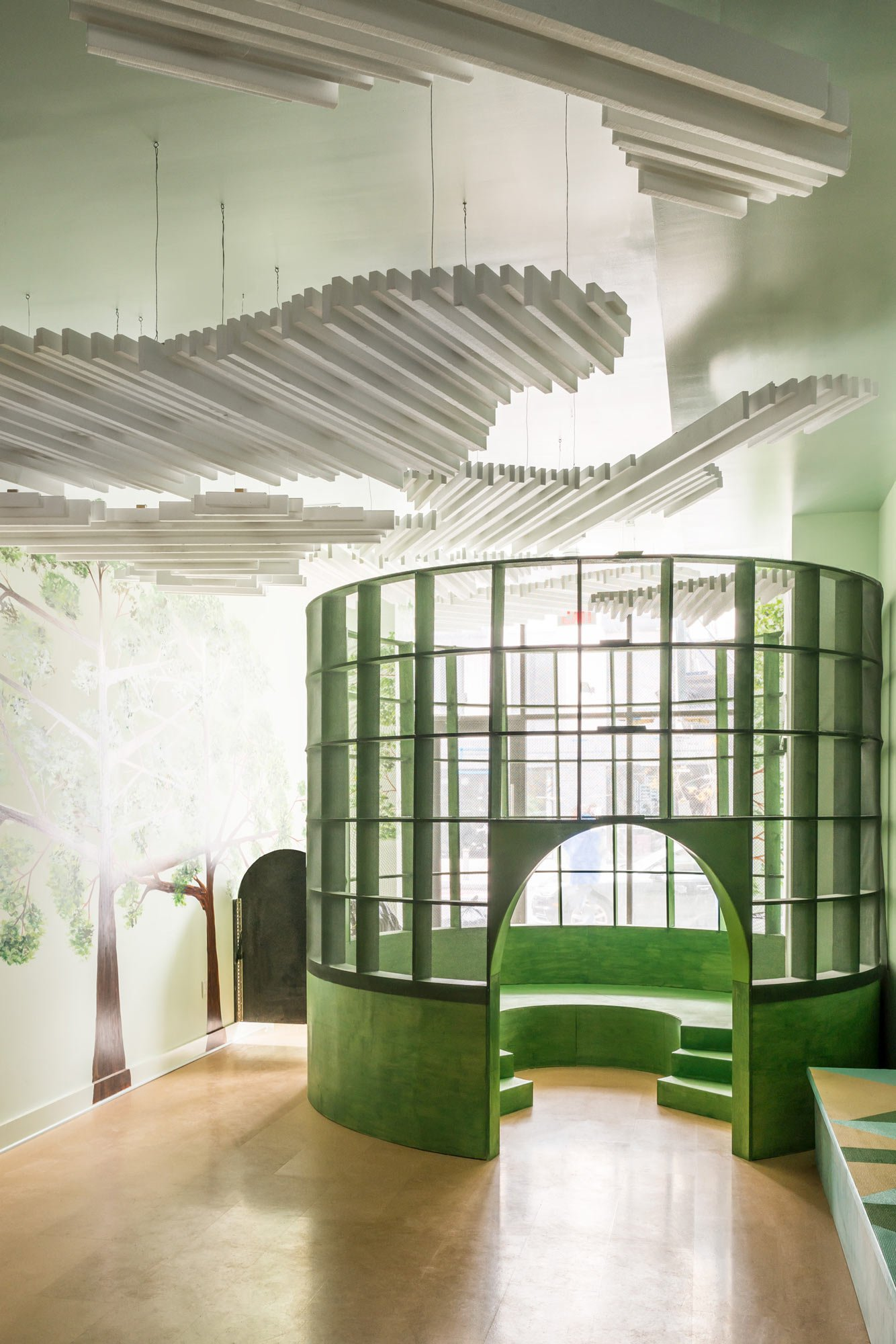 Indoor-Spielplatz in Brooklyn von Architensions