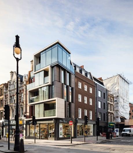In London ist den Architekten von Rolfe Judd eine perfekte Symbiose gelungen