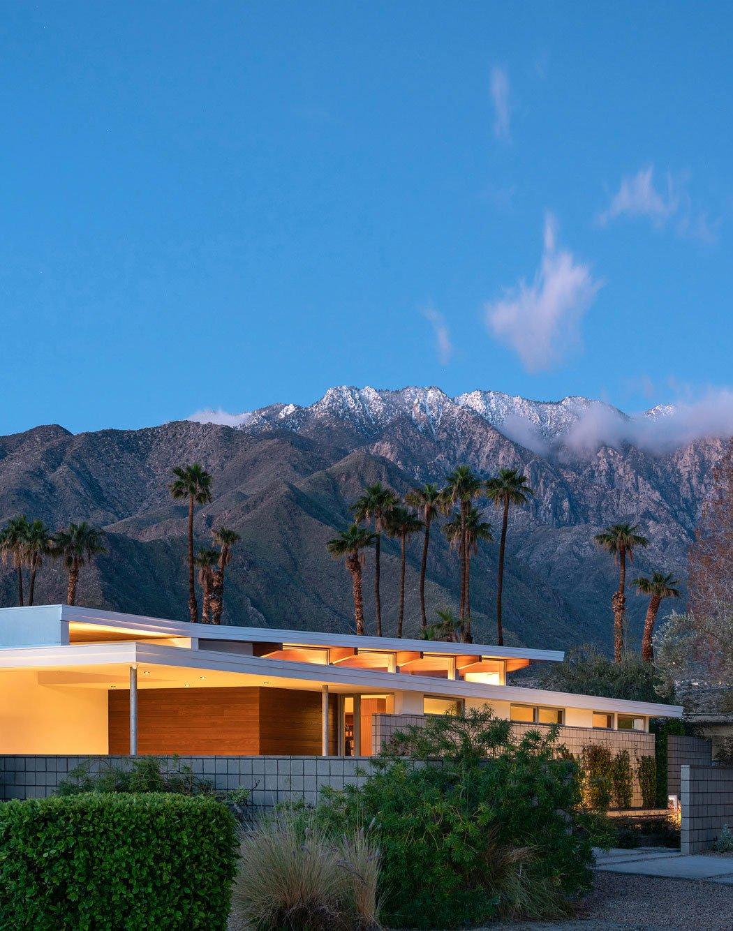 Feriendomizil in Palm Springs von Turkel Design