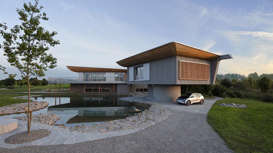 Wohnhaus von Alfredo Häberli, inspiriert vom Schiffbau