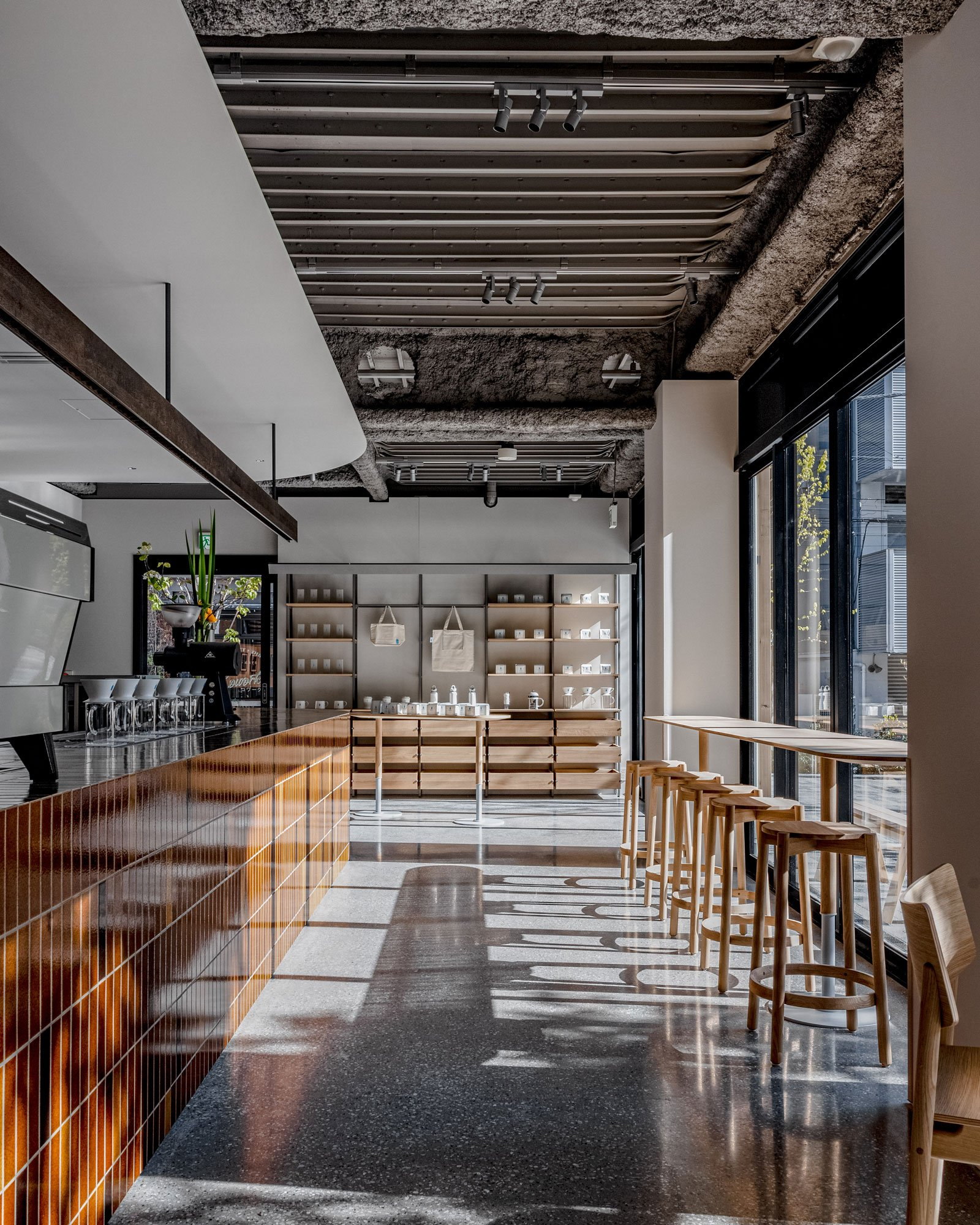 Der Blue Bottle Coffee Shop Shibuya von Keiji Ashizawa