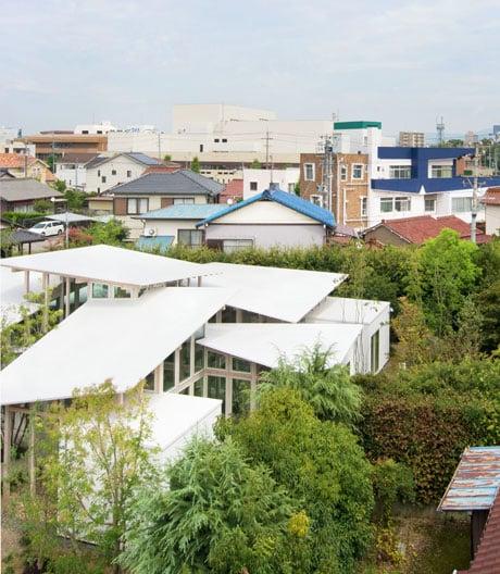 Ein Haus wie ein Wintergarten von Studio Velocity