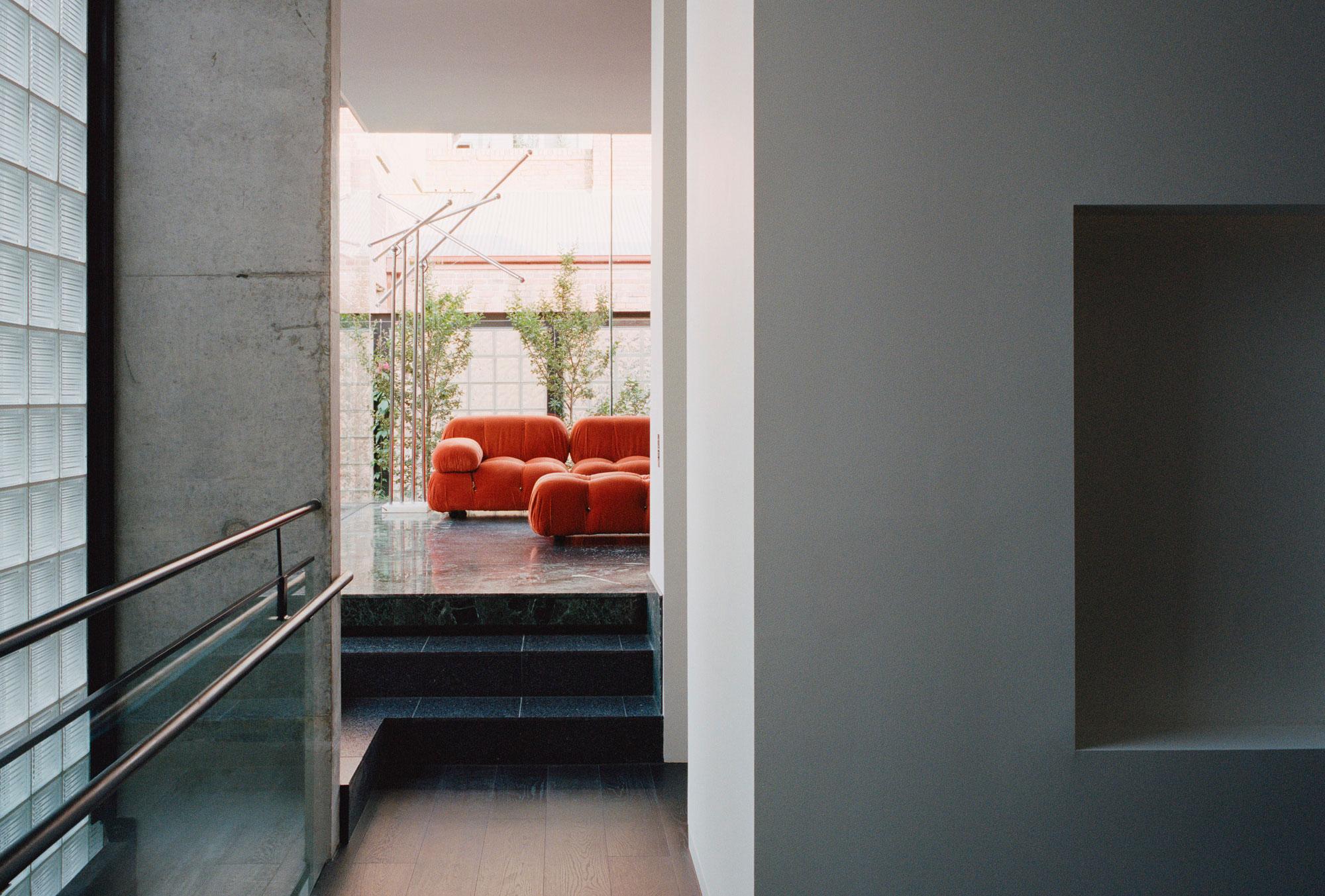Umbau einer ehemaligen Galerie zur Wohnung