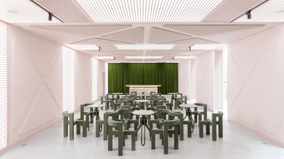 XYZ Lounge von Künstler und Architekt Didier Fiúza Faustino in Gent