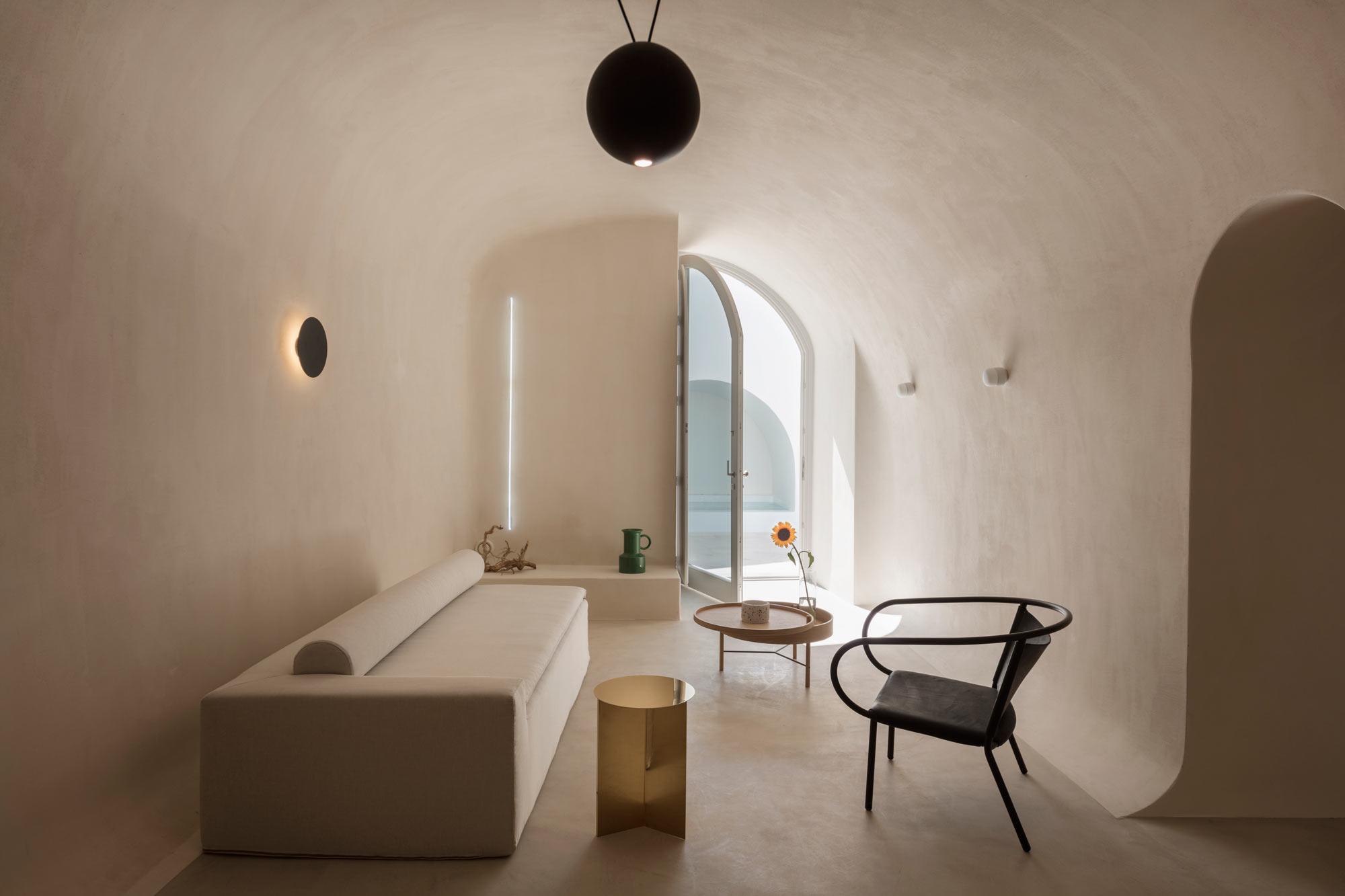 Ferienwohnungen auf Santorini von Kapsimalis Architects
