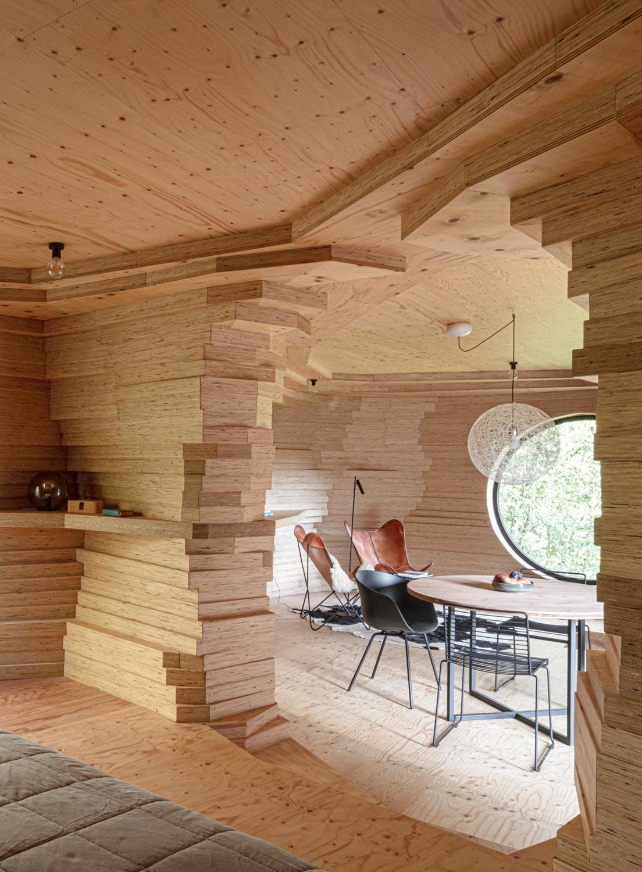 Ein Gästehaus im belgischen Berlare von Atelier Vens Vanbelle