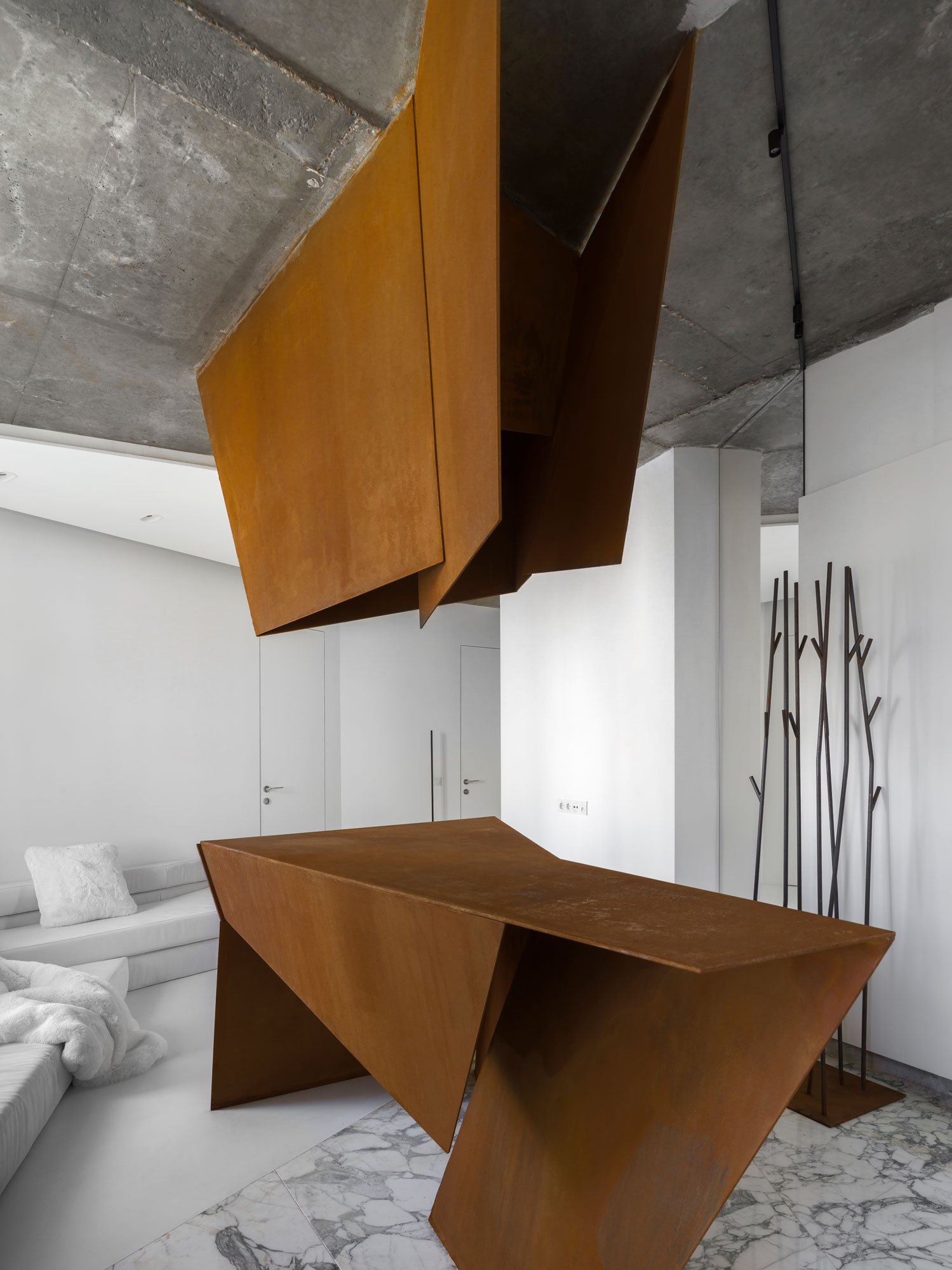Apartment von Maxim Kashin Architects in Moskau