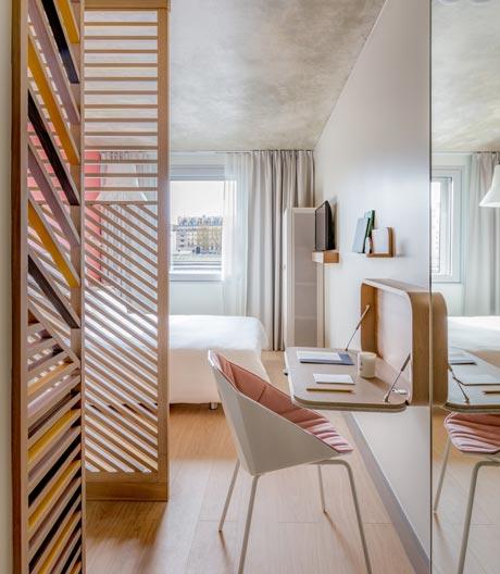 Ligne Roset und Studio Catoir für die OKKO-Hotelkette