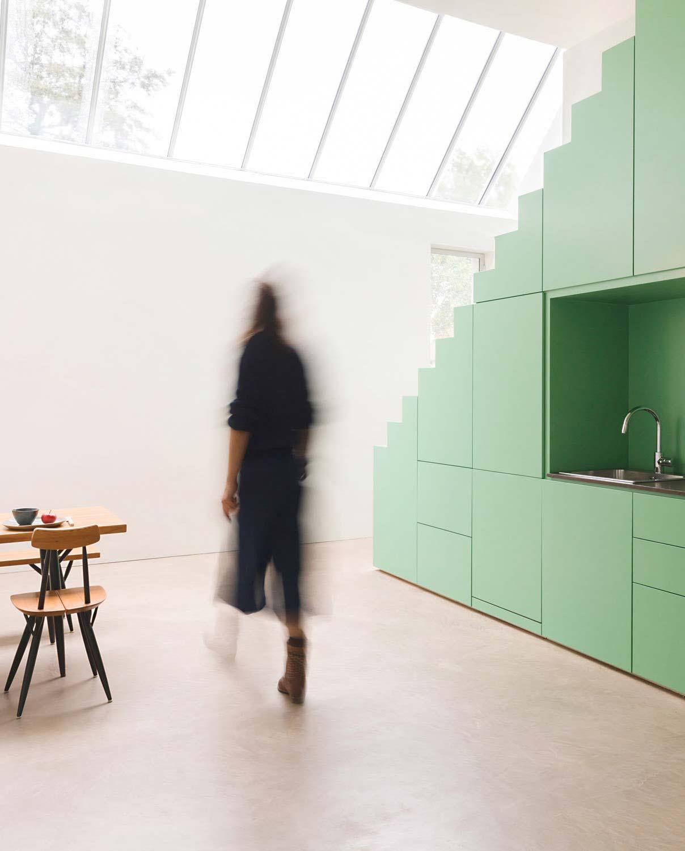 Atelier-Umbau von De Nieuwe Context in den Niederlanden