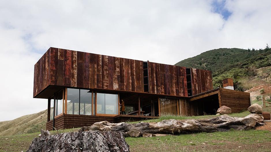Wohnhaus im Norden Neuseelands von Herbst Architects