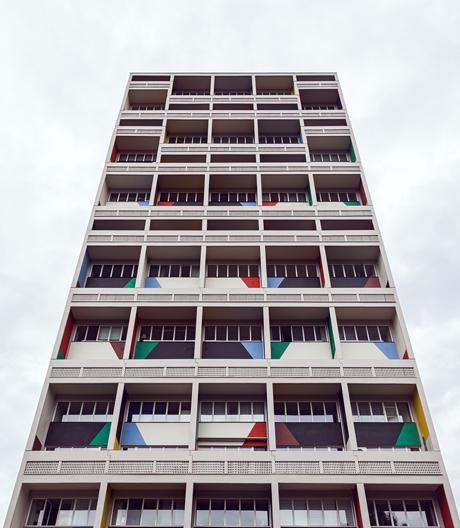 Auf Zeitreise in die Details des Berliner Corbusierhaus