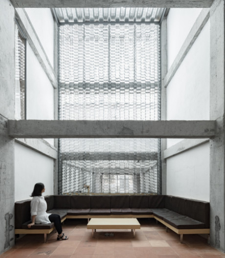 Neuinterpretation des Hotelzimmers in China von kooo architects