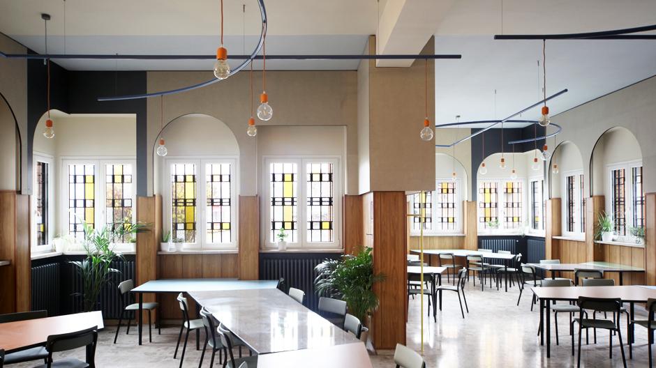 Gefängnisrestaurant von Andrea Marcante und Adelaide Testa in Turin