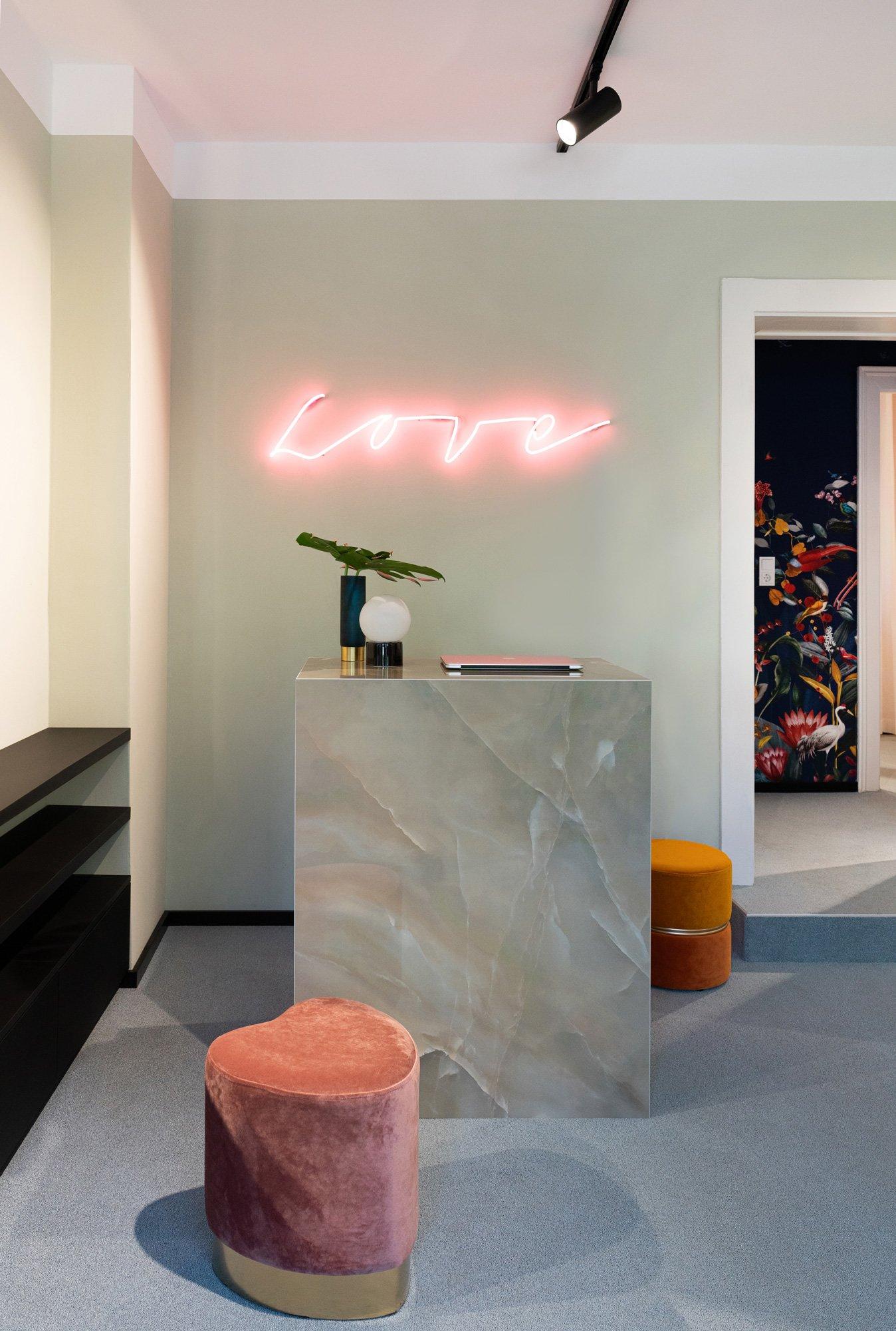 Mondäne Boutique von Sebastian Zenker in München