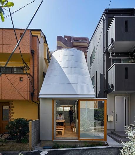 Miniwohnhaus von Takeshi Hosaka in Tokio