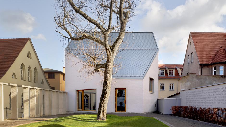 Atelier ST setzte das neue Lutherarchiv in die Hülle eines historischen Gebäudes