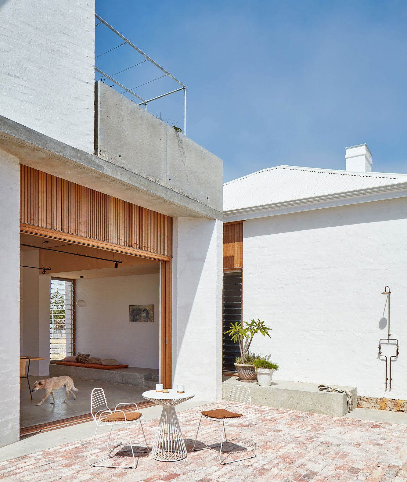 Anbau in Fremantle von David Barr Architects