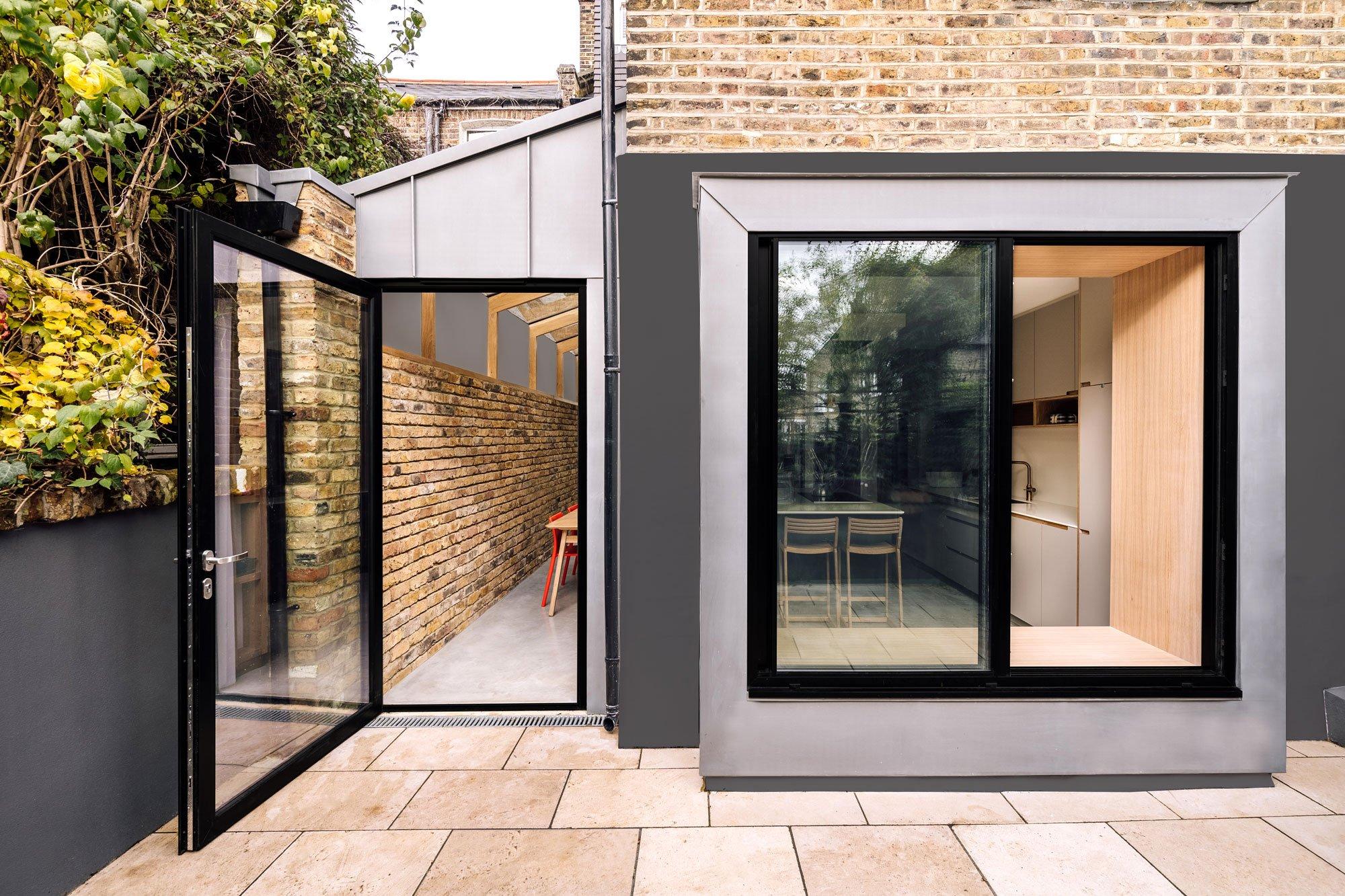 Intelligenter Anbau von Material Works in London